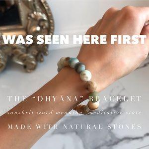 """(Update🗞) """"DHYĀNA"""" Stone Bracelet"""
